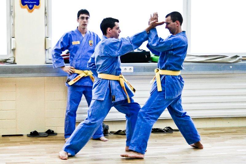 Kampfkunsttraining für Jugendliche und Erwachsene